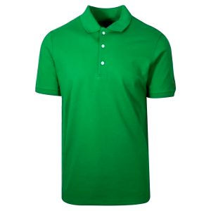 Green Cotton Polo T-Shirt 1 Color Printing