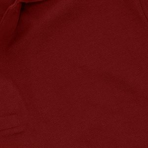 Maroon Cotton Polo T-Shirt 1 Color Printing