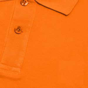 Orange Cotton Polo T-Shirt 2 Colors Printing