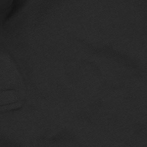 Black Polyester Polo T-Shirt Digital Print