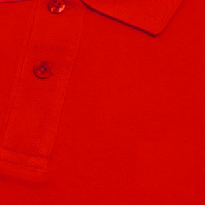 Red Cotton Polo T-Shirt 1 Color Printing