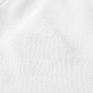 White Polyester Polo T-Shirt 4 Colors Print